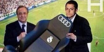 Real Madrid: Memes por fichaje del Chicharito Hernández