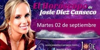 Josie Diez Canseco: Horóscopo del martes 2 de septiembre