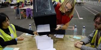 Escocia: el No gana por ocho puntos en los boca de urna