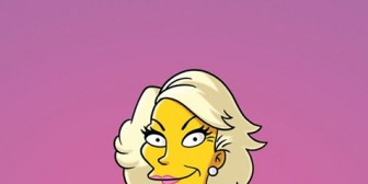 Los Simpsons rindieron tributo a Joan Rivers