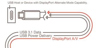 El nuevo puerto USB reversible también llevará audio y vídeo