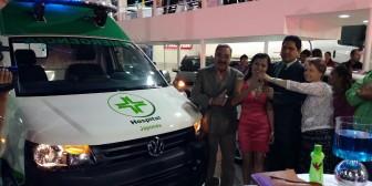Fexpocruz: Santa Cruz tiene ahora ambulancias de última generación