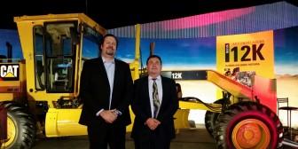 Fexpocruz: Finning dio a conocer su poderosa motoniveladora 12k
