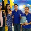 Wilson Bersati, Stephanie Nuñez (Miss Bolivia Internacional 2012) , Boris Espinoza