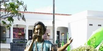 Gladys Moreno para siempre en nuestra Plaza Principal