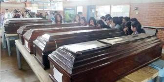 Colegiales muertos viajaron obligados por una cuota