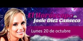 Josie Diez Canseco: Horóscopo del lunes 20 de octubre
