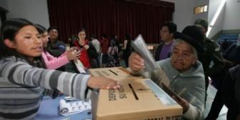 Oposición: el MAS redujo apoyo de la población al no alcanzar el 64% del 2009