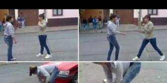 Argentina: Escolares protagonizaron pelea brutal frente a colegio