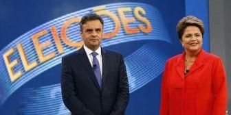 Aécio Neves gana por un punto el debate final de campaña en Brasil