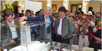 Nuevo Palacio de Gobierno se inaugurará el 22 de enero de 2016, fecha simbólica para Evo