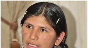 La joven indígena que será médica en Bolivia