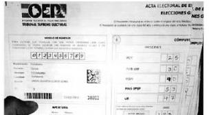 Senador electo acusará penalmente a vocales por delitos electorales