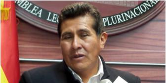 Anuncian proclamación de Rojas como candidato a gobernación de La Paz