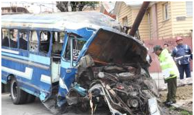 Fallece segunda persona de la lista de heridos del accidente del micro en La Paz