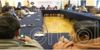 Originarios dicen que TSE los 'mamó' para elecciones regionales de 2015
