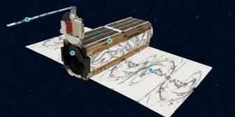 Los 26 satélites destruidos ayer con la explosión del cohete Antares