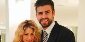Shakira y Piqué presumen de barriguita