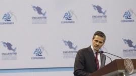 Peña Nieto recortó su gira por China y Australia, por lo que ahora se ausentará del país del 8 al 15 de noviembre, informaron fuentes de la Presidencia. EFE/Presidencia de México/