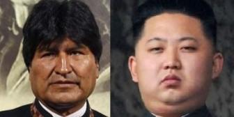"""Evo """"solidario"""" con dictador norcoreano"""