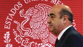 El fiscal general mexicano, Jesús Murillo Karam, ofrece una rueda de prensa hoy, viernes 7 de noviembre de 2014, en Ciudad de México (México).
