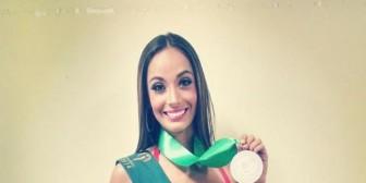 Eloísa Gutiérrez, destaca en el Miss Tierra Internacional 2014