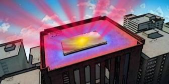 Los superespejos para enfriar edificios sin aire acondicionado