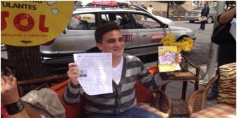 """Hijo del """"compadre"""" Palenque se postula como candidato a concejal por SOL.bo"""