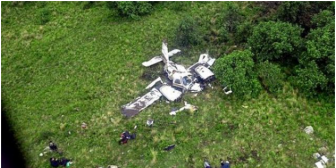 Cae en Salta una avioneta con 200 kilos de cocaína boliviana y mueren sus ocupantes