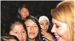 """MariCruz en la campaña """"soy mi primer amor"""""""
