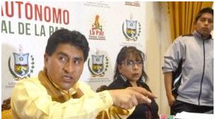 Caso bebé Alexander: Acusan al gobernador de La Paz de encubrimiento y nepotismo