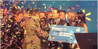 El boliviano Fernández gana concurso de Sábado Gigante