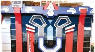 En El Alto una casa inspirada en los Transformers llama la atención