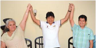 A dedo: Evo elige a candidatos de Chuquisaca, Pando y Cobija