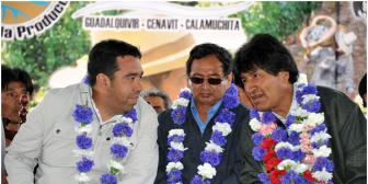 Gobernador de Tarija Lino Condori se retira de la carrera electoral