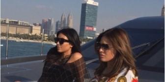 "Kim Kardashian ""cautiva Dubái"" con toda su sensualidad"
