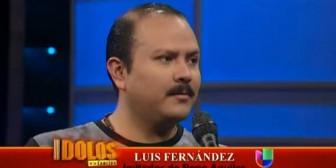 """Luis Fernández: """"Mi sueño es conocer a Pepe Aguilar"""""""