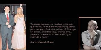 Carlos Valverde, un hombre inmensamente romántico