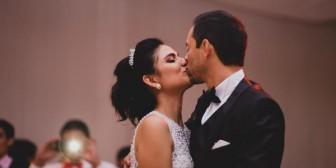 José Miguel Lijerón y Thalma Roca se casaron
