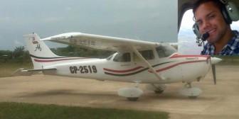 Se estrella una avioneta en Beni y muere el piloto