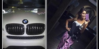 Carly Banegas recibió un BMW de regalo