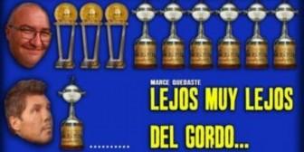 Boca y Real Madrid, unidos para burlarse de San Lorenzo