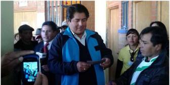 El candidato del MAS en El Alto es otra vez Patana