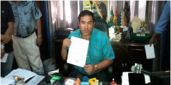 Corrupción en YPFB. Concejal Ávalos dice que sólo pidió material publicitario para una maratón