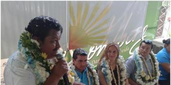 Dirigente Cahuana se suma al bloque de los Fernández y Schamisseddin