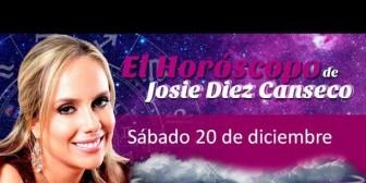 Josie Diez Canseco: Horóscopo del sábado 20 de diciembre