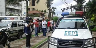 Esposo de Milena Fernández balea policía en medio de pelea conyugal