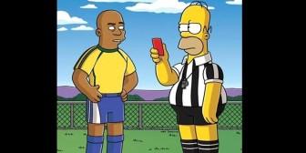 Los futbolistas que han aparecido en Los Simpson