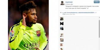 """Acusado de provocador, Neymar pide """"respeto"""" hacia su figura"""