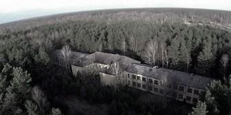 Un drone descubrió una base militar soviética abandonada en Alemania